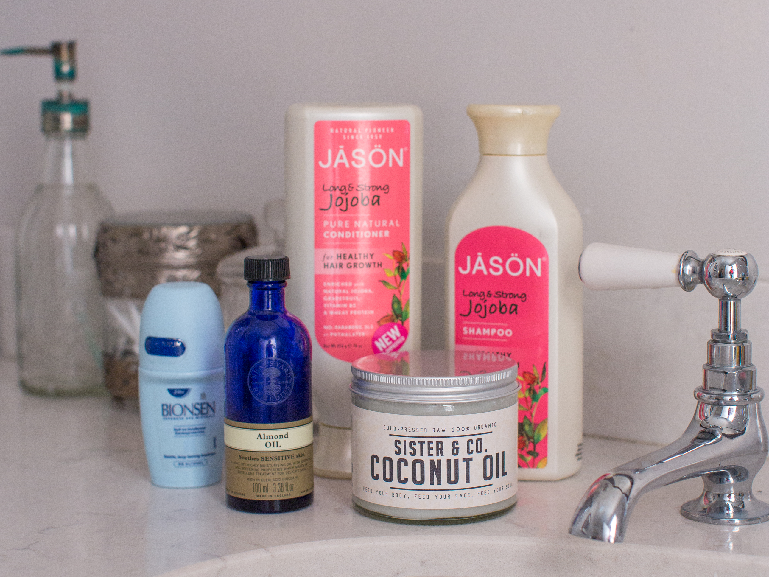 Beauty products shot